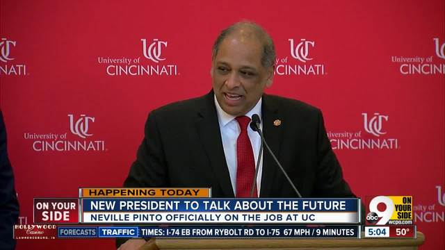 New UC president to talk about the future
