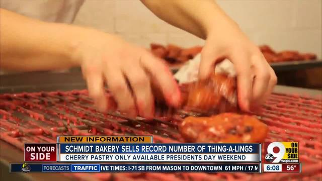 Schmidt Bakery sells record number of Thing-a-Lings