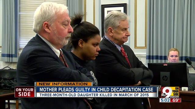 Deasia Watkins pleads guilty to murder- decapitating her infant daughter