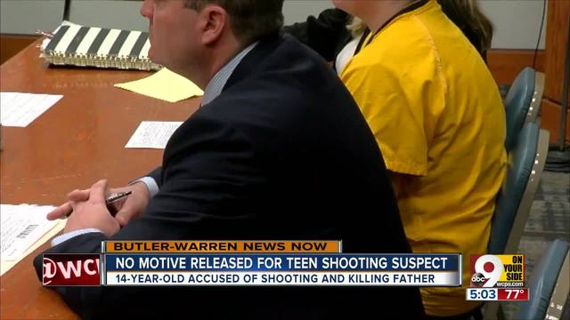 No motive released for teen shooting suspect
