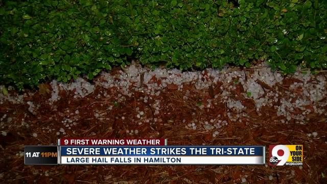 Severe weather strikes the Tri-State