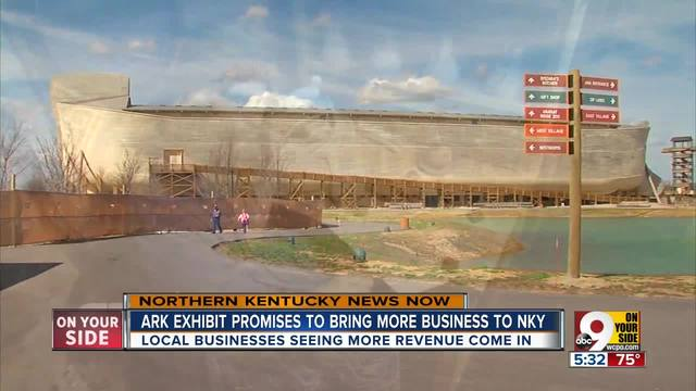 New Ark Encounter exhibit bringing crowds- business to Northern Kentucky