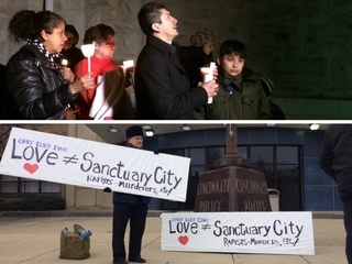 Community split on 'sanctuary city' issue