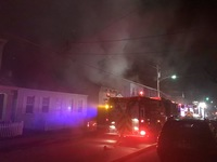 Couple, dog escape Bellevue fire unharmed