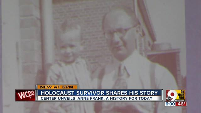 Local Holocaust survivor shares his story