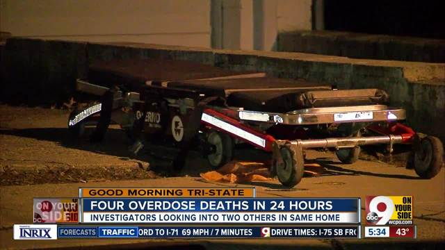Drug overdose deaths spike; 55-64-year-olds most affected