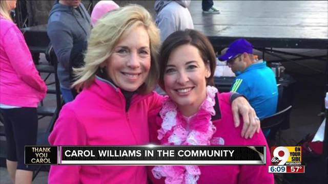 Carol Williams made a difference in our community