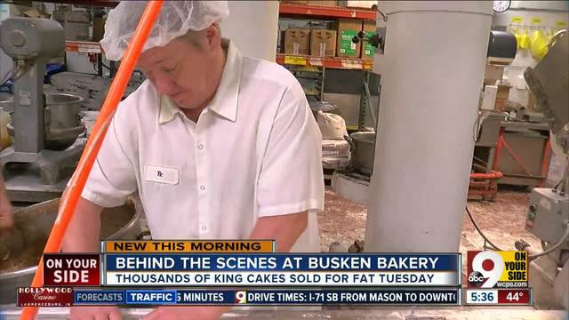 Busken Bakery is ready to sell king cakes