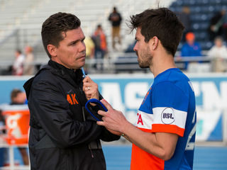 For FC Cincy coach, there's no time to sleep