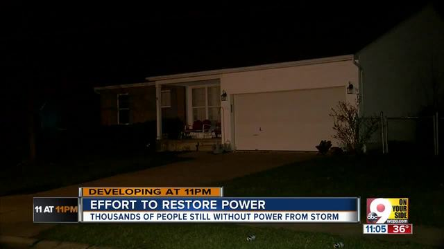 Duke Energy Hopes To Have Power Restored By End Of Friday