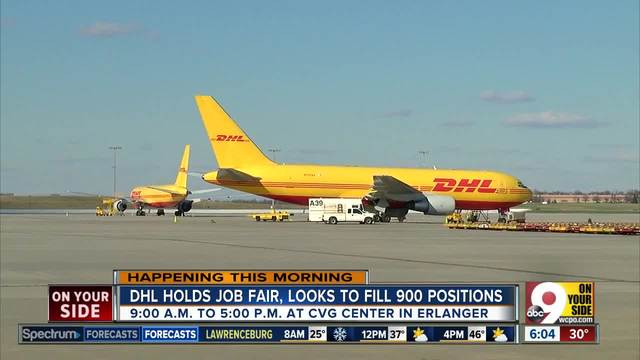 DHL holds job fair Saturday in search of 900 new employees for