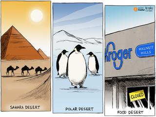 EDITORIAL CARTOON: Deserts