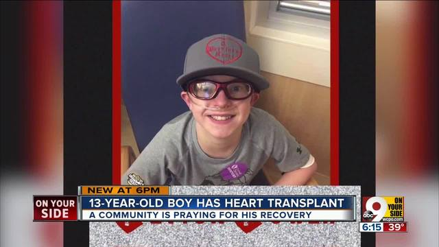 Boy who had heart transplant dies on first day of school