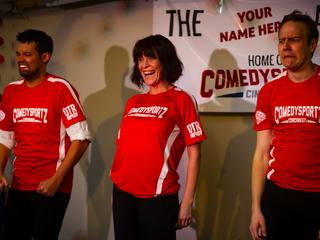 ComedySportz improv battle pits funny vs. funny
