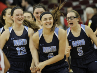 Mount Notre Dame one win from sixth state title