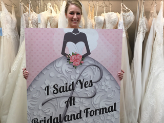 Ally Kraemer's wedding dress quest quick, easy