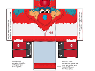Make your own Opening Day Gapper pop-up toy