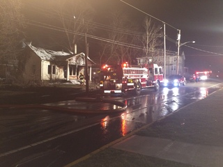 Fire destroys Oxford house just off campus