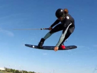 A world wakeboard champion from Monfort Heights?