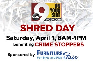 9 On Your Side Shred Day is April 1st