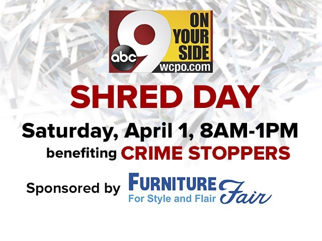 9 On Your Side Shred Day At Furniture Fair Protects You From Identity Thieves Wcpo Cincinnati Oh