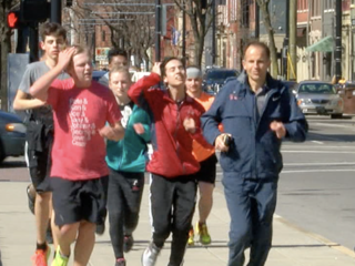 SCPA students train for Flying Pig Marathon