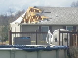 NWS: EF1 Tornado hit Clermont County on Sunday