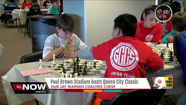 Paul Brown Stadium hosts youth chess tournament