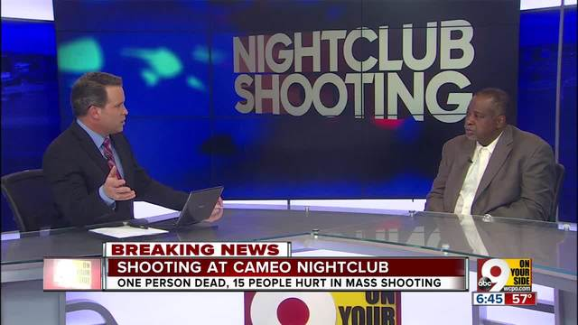 Cameo nightclub shooting- Mitch Morris of Project Nehemiah