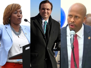 Mayoral candidates trade barbs over shooting