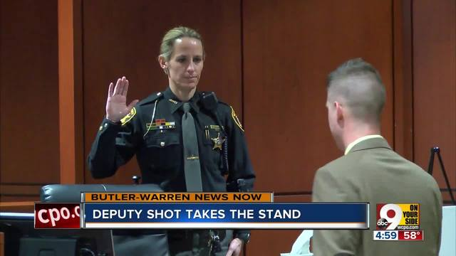Deputy describes the night she was shot