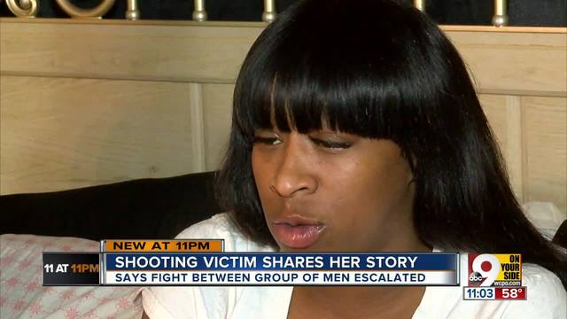 Cameo shooting victim shares her story