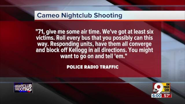 911 calls from Cameo nightclub shooting