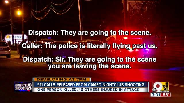 Theres Blood All Over 911 Calls Reveal Chaos In After Mass Shooting Cincinnati