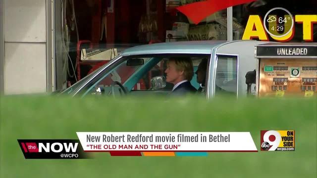 The Old Man And The Gun Brings Robert Redford Sissy Spacek To Bethel Ohio