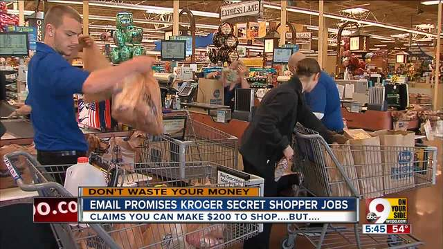 Will Kroger Pay You 200 To Be A Secret Shopper