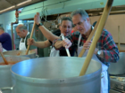 How do you cook dinner for 2,000 people?