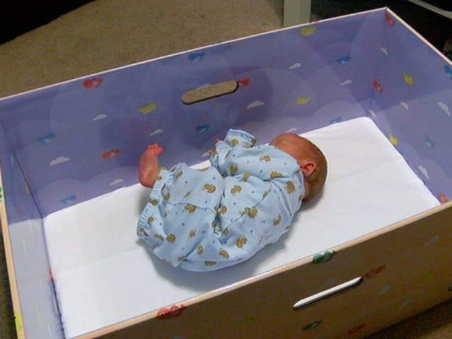 Baby Box Craze Promoting Safer Infant Sleep Comes To