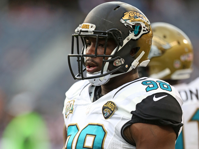 Jaguars trade DL Chris Smith to Bengals