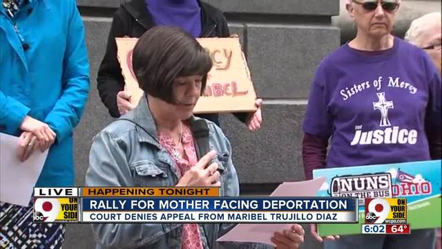 Rally for Fairfield mother facing deportation