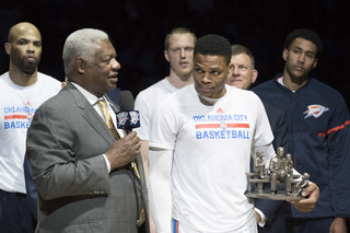 The Big O says Westbrook is the NBA MVP