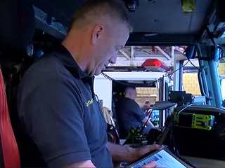 Firefighter's sons to follow in his footsteps