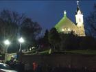 Faithful climb Mount Adams steps for Good Friday