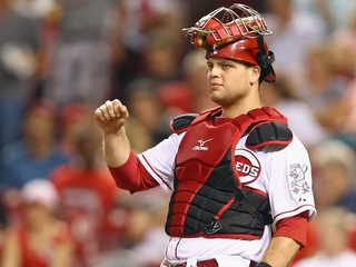 What needs to happen before Mesoraco returns