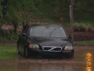 Hurricane flooded cars arriving at used car lots