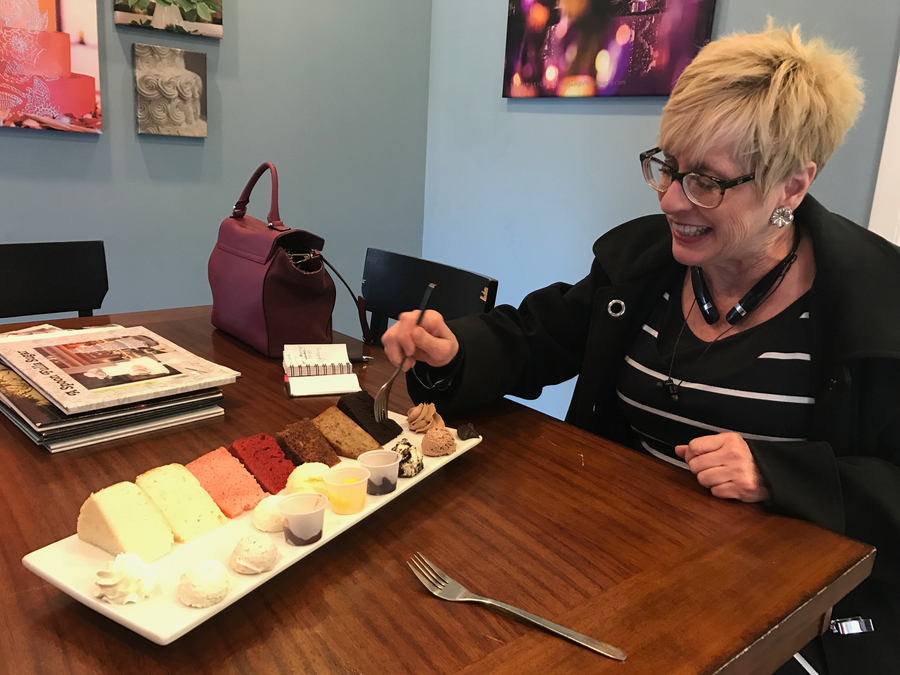 Wedding Cake Tasting Creates Sweet Memory For Ally Kraemer
