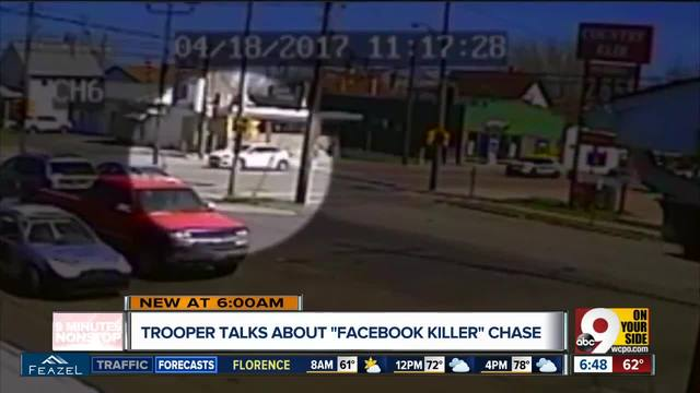 Pennsylvania troopers talk about -Facebook killer- chase