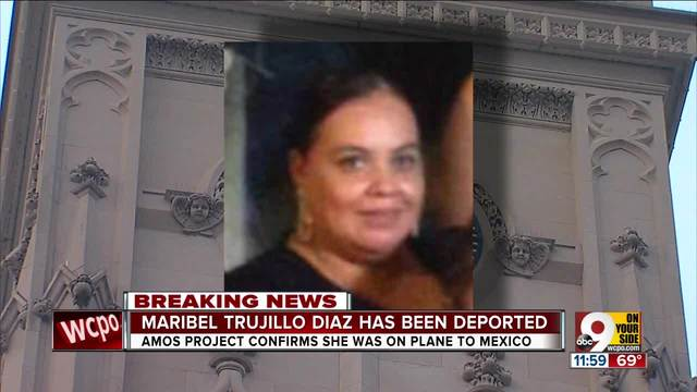 Maribel Trujillo Diaz deported back to Mexico