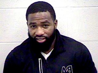 Adrien Broner arrested in bullet-riddled vehicle