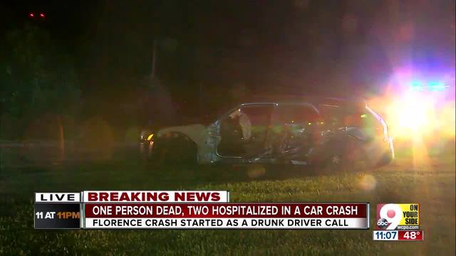 PD- 1 dead- 2 injured in Florence crash